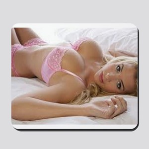 The PinUp Girl. Mousepad