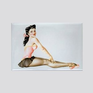 The PinUp Girl. Rectangle Magnet (10 pack)