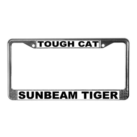 Tough Cat Sunbeam Tiger License Plate Frame #2