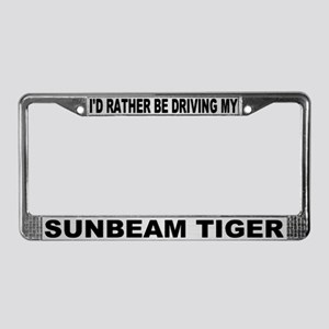 I'd Rather Be Driving My Sunbeam Tiger Frame #1