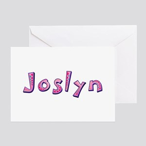Joslyn Pink Giraffe Greeting Card
