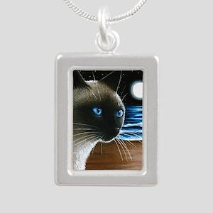 Cat 396 siamese Necklaces
