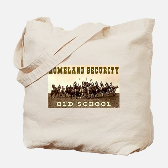 HOMELAND SECURITY - OLD SCHOOL Tote Bag
