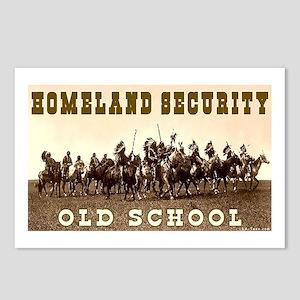 HOMELAND SECURITY - OLD SCHOOL Postcards (Package