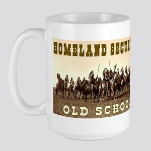 HOMELAND SECURITY - OLD SCHOOL Large Mug