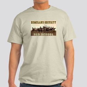 HOMELAND SECURITY - OLD SCHOOL Light T-Shirt