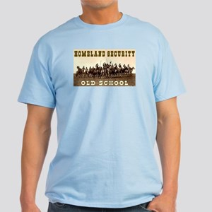 HOMELAND SECURITY - OLD SCHOOL Light T-Shirt