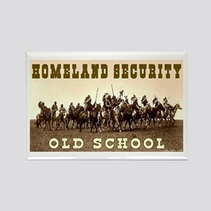 HOMELAND SECURITY - OLD SCHOOL Rectangle Magnet