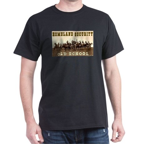 HOMELAND SECURITY - OLD SCHOOL Dark T-Shirt