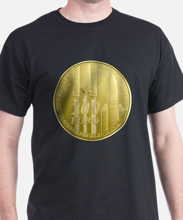Commerative Coin ESA Logo T-Shirt