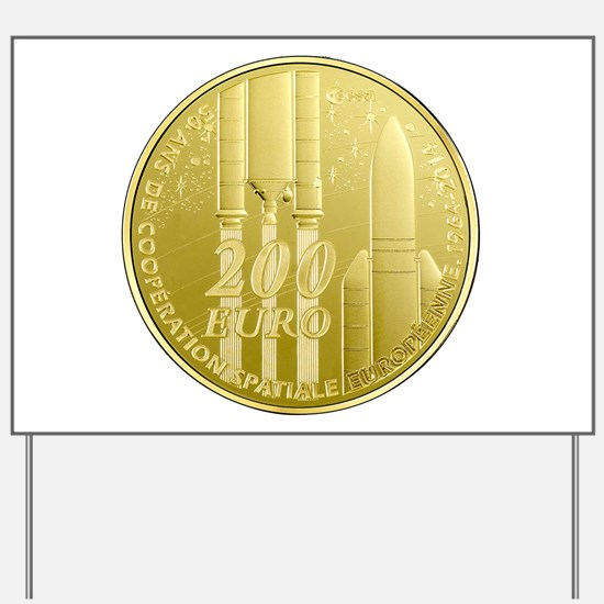 Commerative Coin ESA Logo Yard Sign