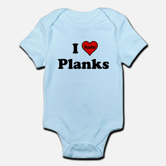I Heart (hate) Planks Body Suit