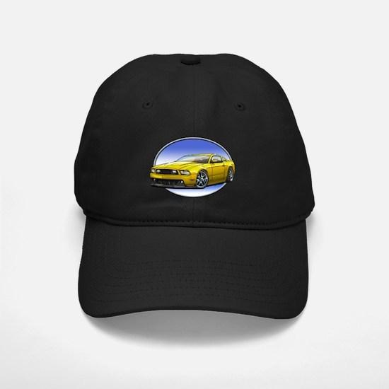 GT Stang Yellow Baseball Hat