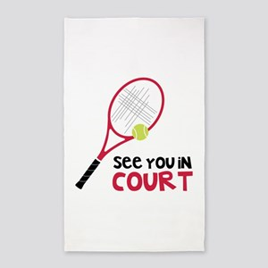 See You In Court 3'x5' Area Rug