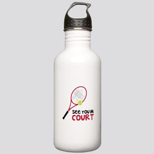 See You In Court Water Bottle