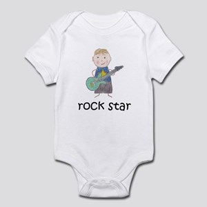 Boy Rock Star Infant Bodysuit