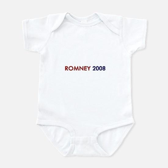 Mitt Romney 2008 Infant Bodysuit