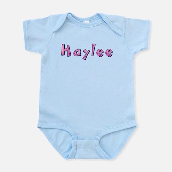Haylee Pink Giraffe Body Suit