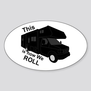 I Love RVing Sticker (Oval)