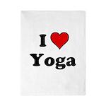 I Heart Yoga Twin Duvet