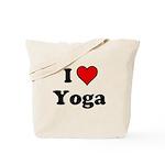 I Heart Yoga Tote Bag