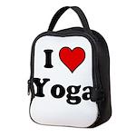 I Heart Yoga Neoprene Lunch Bag