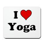 I Heart Yoga Mousepad