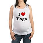 I Heart Yoga Maternity Tank Top