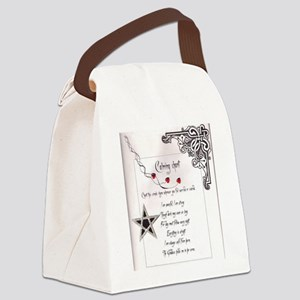 Calming Chant Canvas Lunch Bag