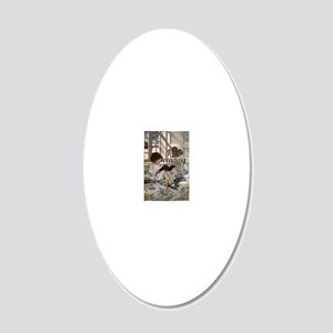 I love reading 20x12 Oval Wall Decal