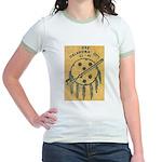 USS OKLAHOMA CITY Jr. Ringer T-Shirt
