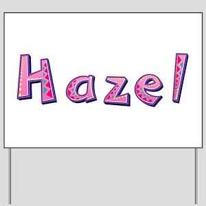 Hazel Pink Giraffe Yard Sign