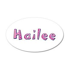 Hailee Pink Giraffe Wall Decal