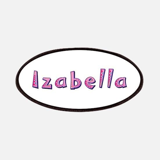Izabella Pink Giraffe Patch