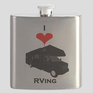 I Love RVing Flask