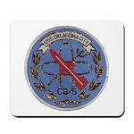 USS OKLAHOMA CITY Mousepad