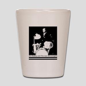 Art Blakey and The Jazz Messengers Shot Glass