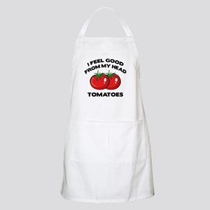 I Feel Good From My Head Tomatoes Apron