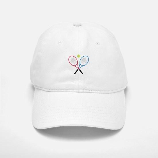 Tennis Rackets Baseball Cap