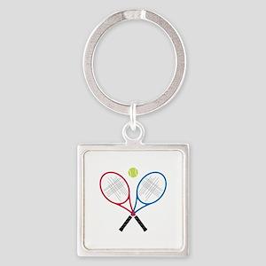 Tennis Rackets Keychains