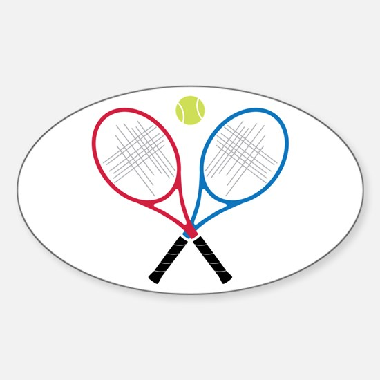 Tennis Rackets Decal