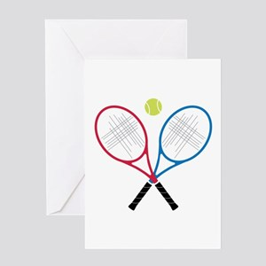 Baby tennis greeting cards cafepress tennis rackets greeting cards m4hsunfo Choice Image