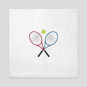Tennis Rackets Queen Duvet
