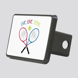 Live, Love, Tennis Hitch Cover