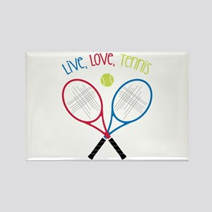 Live, Love, Tennis Magnets