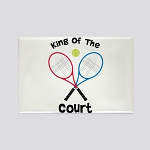 King Of The Court Magnets