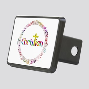Christian Music Rectangular Hitch Cover