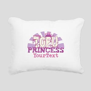 CUSTOMIZE Tofu Princess Rectangular Canvas Pillow