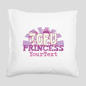 CUSTOMIZE Tofu Princess Square Canvas Pillow