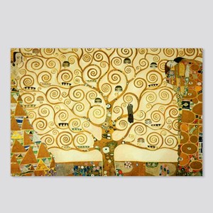 Gustav Klimt Tree Of Life Postcards (Package of 8)